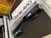 Audinate AVIO-USB/analog out 2chモデル 導入